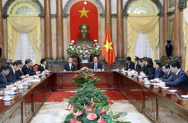 President supports Vietnam-Kansai economic dialogue hinh anh 1