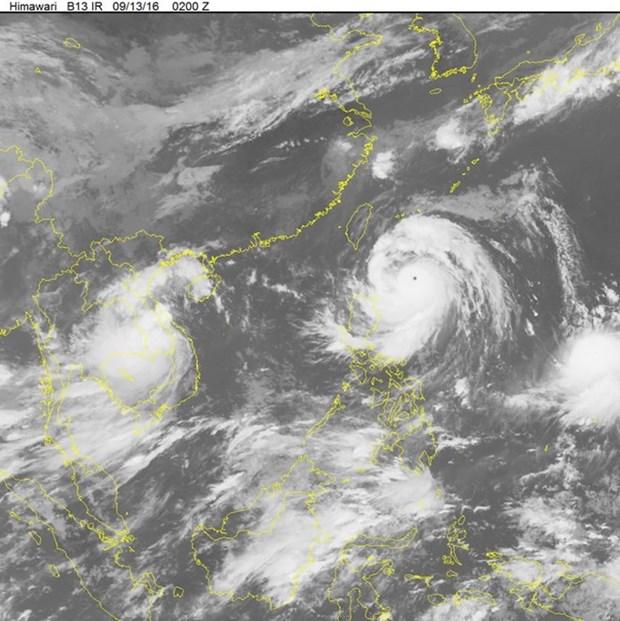 Super typhoon Meranti moving towards East Sea hinh anh 1