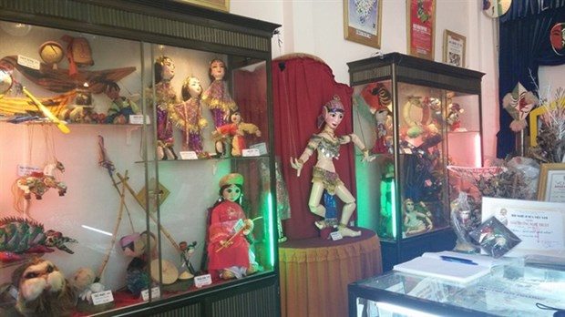Solo performer opens own puppetry museum hinh anh 1