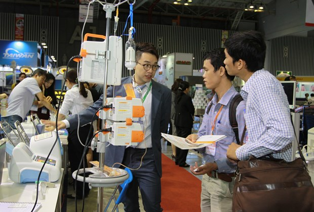 International Pharma-healthcare expo opens in HCM City hinh anh 1
