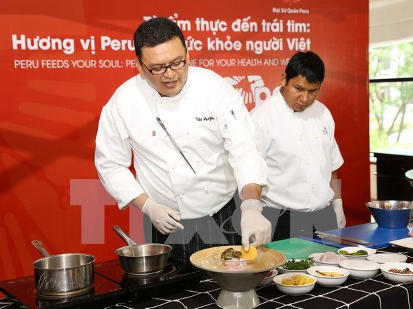 Gastronomy gives Vietnamese a taste of Peru's culture hinh anh 1