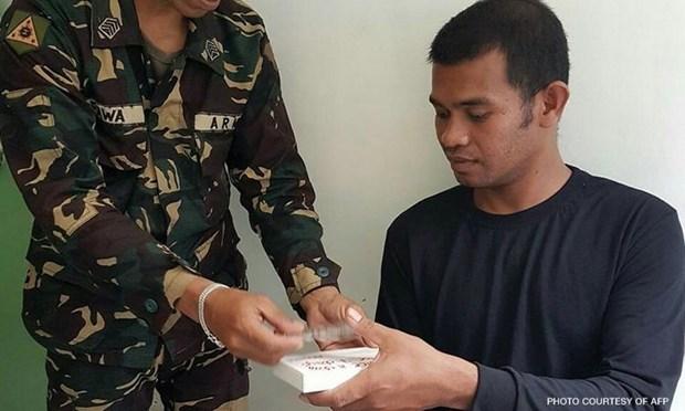Indonesian hostage of Abu Sayyaf released hinh anh 1