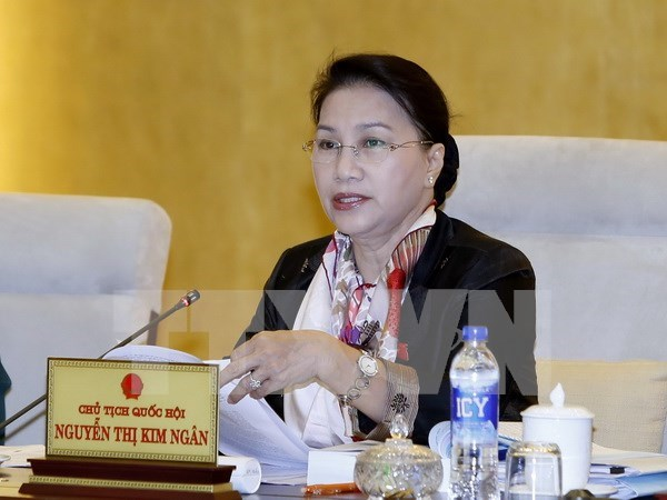 NA Chairwoman to visit Laos, Cambodia, Myanmar, attend AIPA-37 hinh anh 1