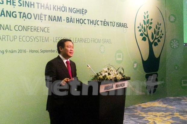 Vietnam must develop start-up ecosystem: Deputy PM hinh anh 1
