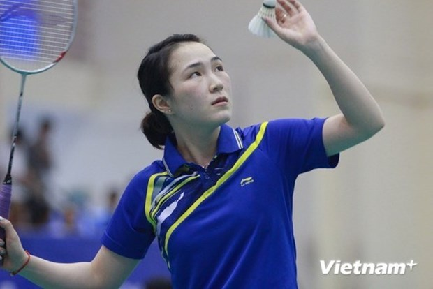 Int'l series attracts badminton players from 15 countries, territories hinh anh 1