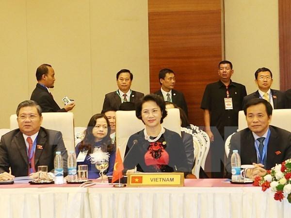 Three Vietnamese-sponsored resolutions adopted at AIPA 37 hinh anh 1