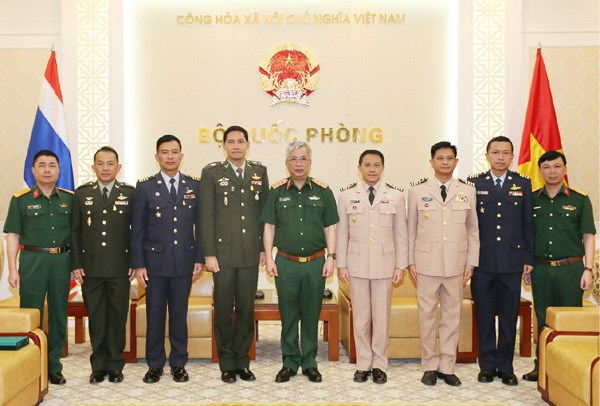 Vietnam treasures defence ties with Thailand hinh anh 1