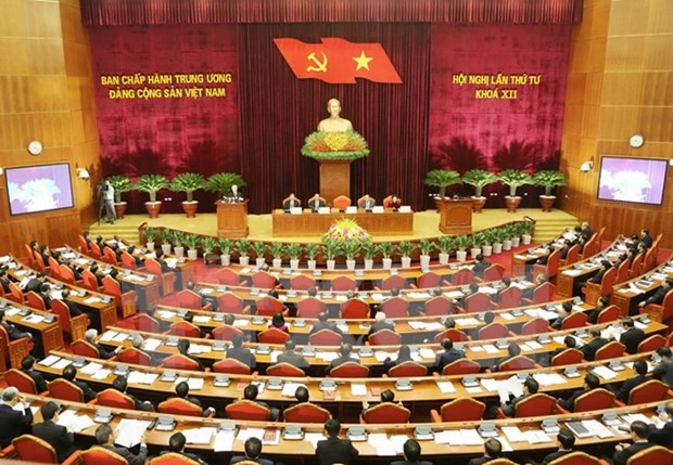 First working day of Party Central Committee's 4th plenum hinh anh 1