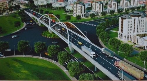 Hai Phong overpass to open next year hinh anh 1