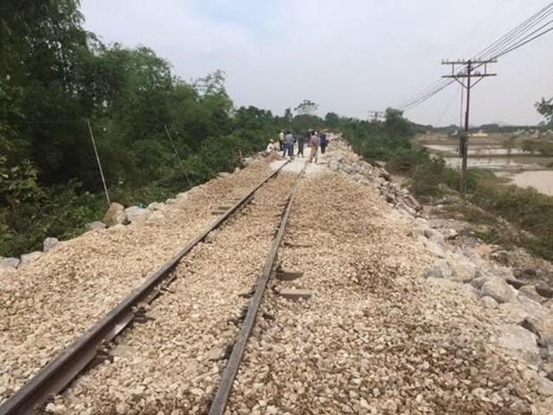 North-South railway resumes operation hinh anh 1