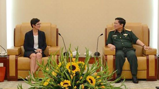 Vietnam, US hold 7th defence policy dialogue hinh anh 1