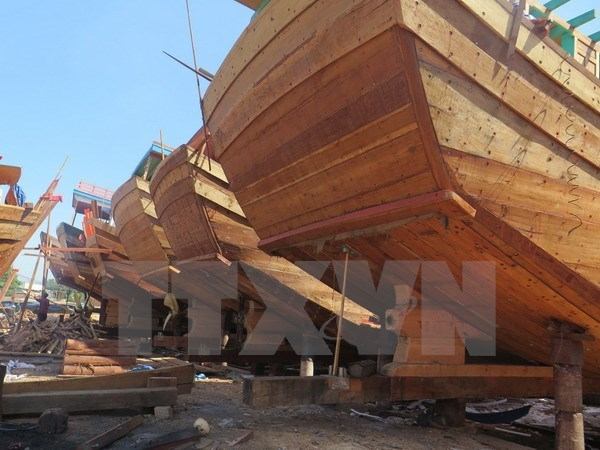 Kien Giang: 13 new ships launched under Decree 67 hinh anh 1