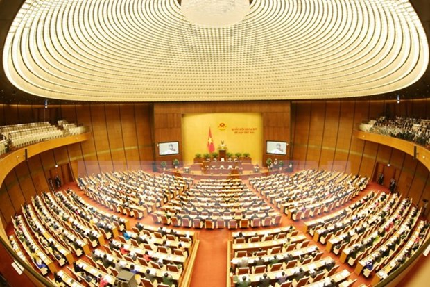 14th NA's second meeting focuses on economic affairs on day 1 hinh anh 1