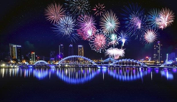 Da Nang launches int'l fireworks logo contest hinh anh 1