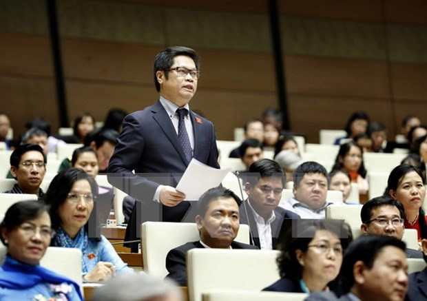 NA deputies scrutinise strategic targets for national economy hinh anh 1