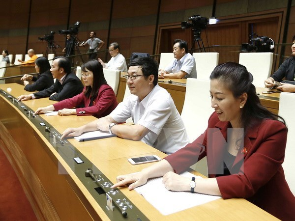 National Assembly targets 6.7-percent GDP growth in 2017 hinh anh 1