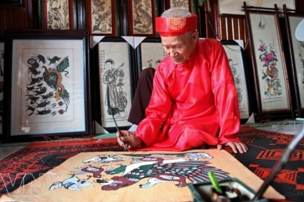 Preservation efforts made as folk paintings face disintegration hinh anh 1