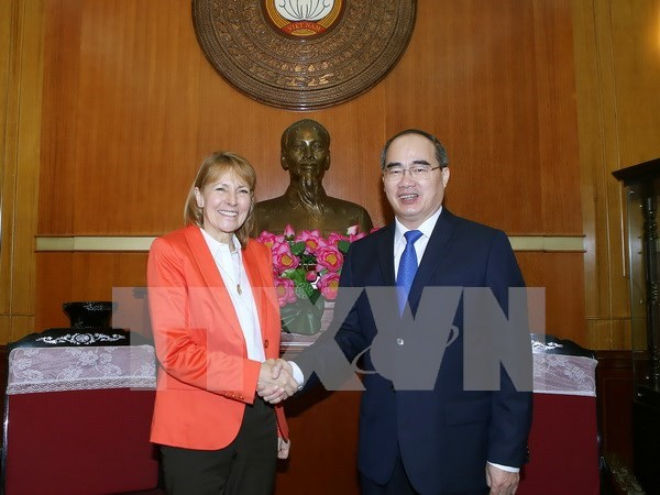 Germany asked to share more experience in developing SMEs hinh anh 1