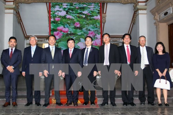 HCM City seeks development assistance from Japan hinh anh 1