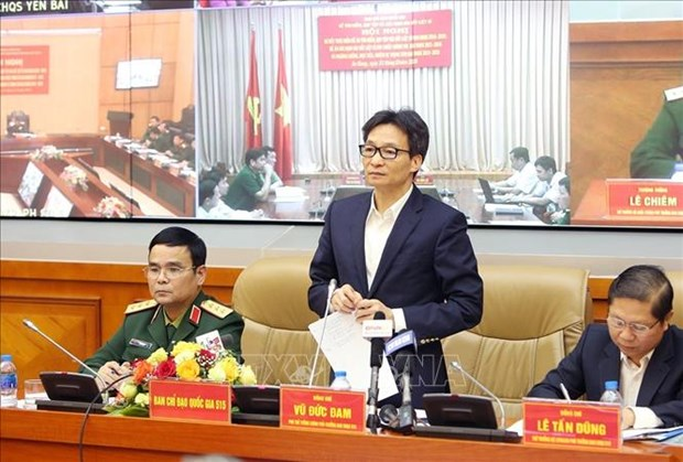 Teleconference focuses on efforts to find, identify martyrs' remains hinh anh 1