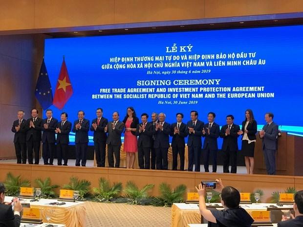 EVFTA propels forward Vietnam-EU economic development hinh anh 2