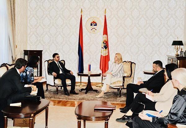 Bosnia-Herzegovina President meets billionaire Mai Vu Minh hinh anh 2