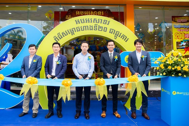 MWG's Bluetronics to reach triple the size of largest competitor in Cambodia hinh anh 1