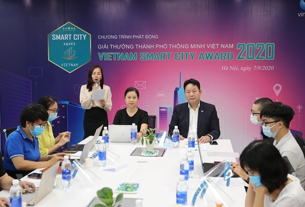 Vietnam Smart City Award 2020 officially launched hinh anh 1