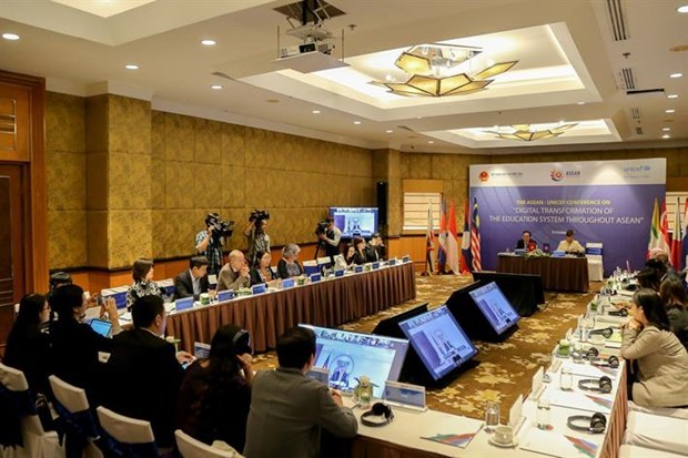 10 ASEAN countries discuss digital transformation in education hinh anh 1