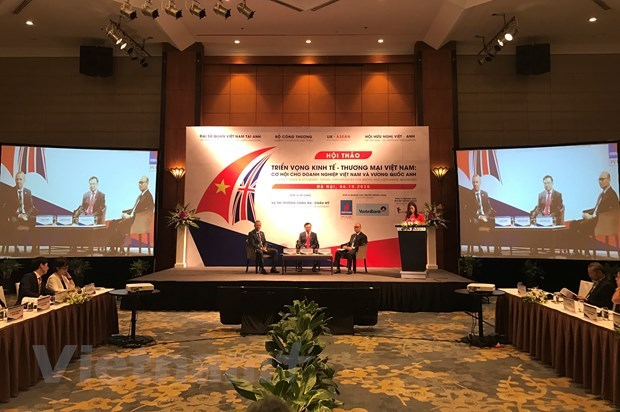 Negotiations on Vietnam – UK FTA expected to be completed at year's end hinh anh 1