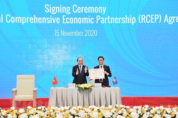 """""""Together with CPTPP, RCEP offers ideal economic models"""" hinh anh 1"""