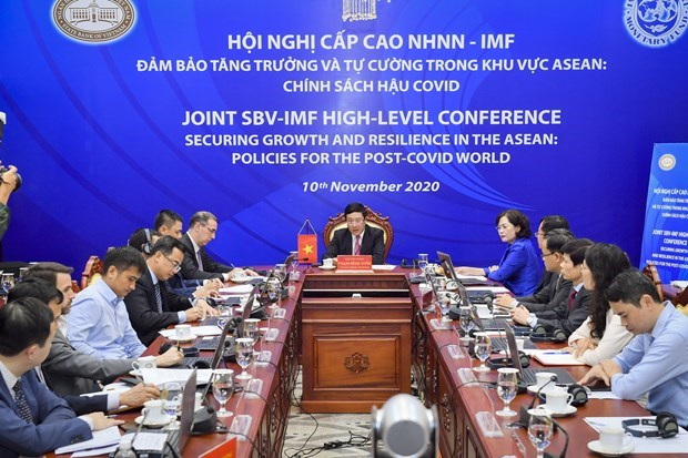 Solutions south to recover economic growth in ASEAN post COVID-19 hinh anh 1