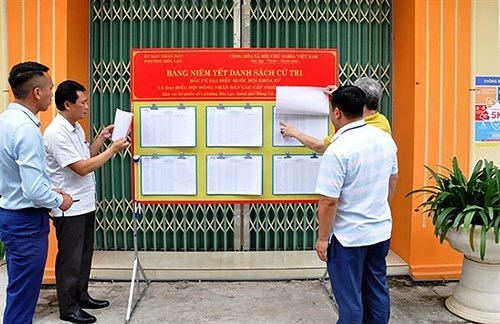 An overall look at Vietnam's election law hinh anh 1