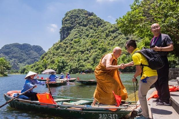 2019 UN Day of Vesak: Int'l delegates explore Vietnam's beauty hinh anh 2