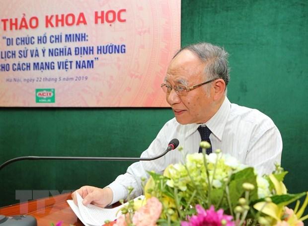 Ho Chi Minh's testament: the torch shines Vietnamese revolution hinh anh 2