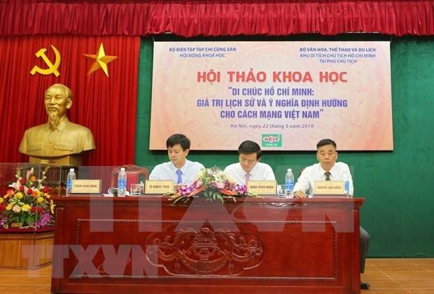 Ho Chi Minh's testament: the torch shines Vietnamese revolution hinh anh 4