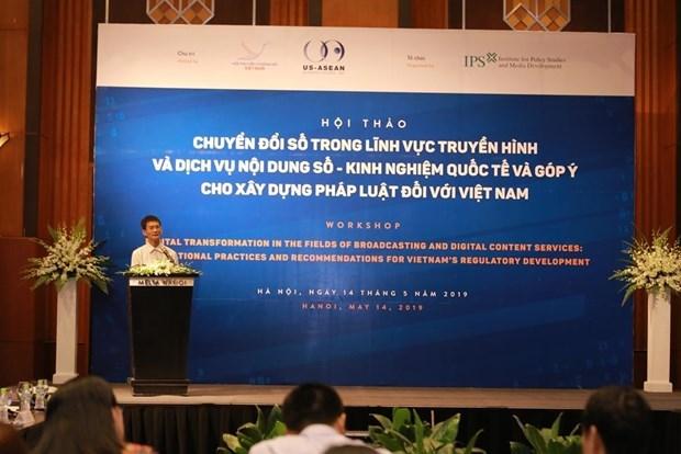 Specific legal framework needed for OTT media service management hinh anh 2