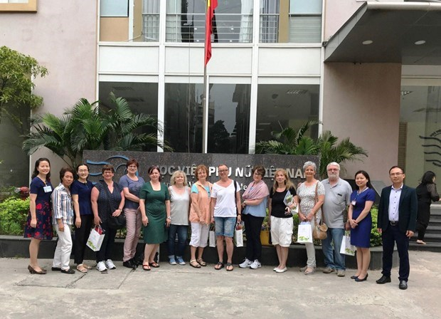 Vietnam sponsored to improve capacity to promote gender equality hinh anh 2