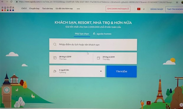 Time of online travel hinh anh 2