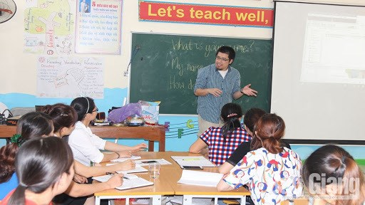 Bac Giang bolsters English teaching at local schools hinh anh 2