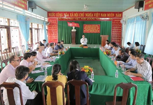 Policy credit: direct support for national target programmes hinh anh 1