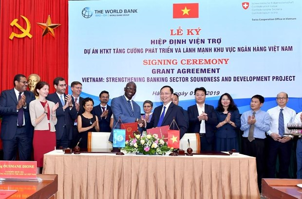 Over 2 mln USD for development of Vietnam's banking sector hinh anh 1