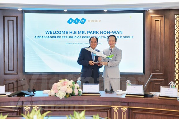 Ambassador vows to connect FLC with RoK partners hinh anh 4