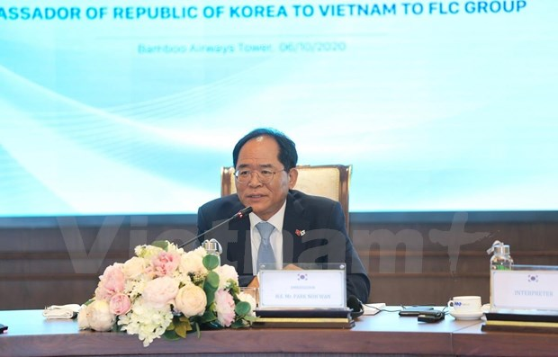 Ambassador vows to connect FLC with RoK partners hinh anh 1