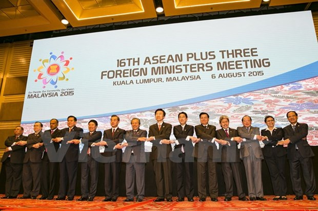 Deputy PM speaks to ASEAN+3, EAS and ARF events hinh anh 1