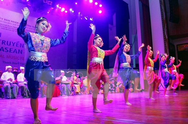 ASEAN music festival concludes in Thanh Hoa hinh anh 1