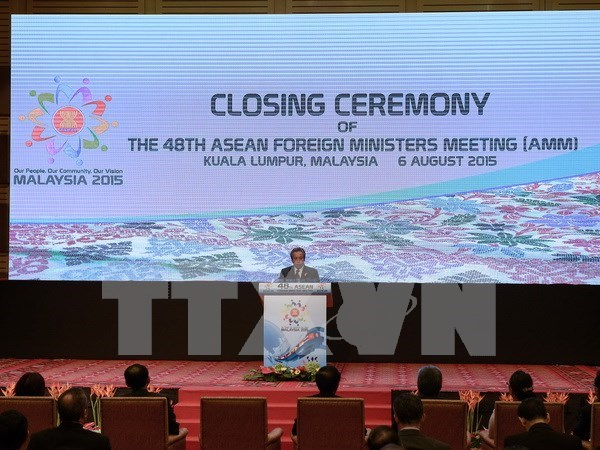 ASEAN foreign ministers express concerns over East Sea hinh anh 1