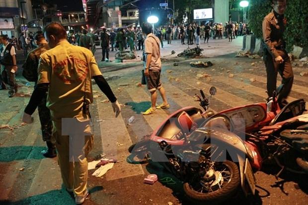 One Vietnamese national injured in Bangkok blast hinh anh 1
