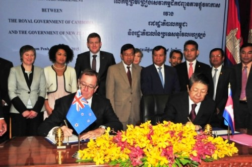 Cambodia, New Zealand boost bilateral cooperation hinh anh 1