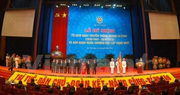 Justice Ministry awarded with Order of Independence hinh anh 1